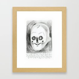 Mr S. Framed Art Print