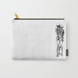 Kissing Skeleton Carry-All Pouch