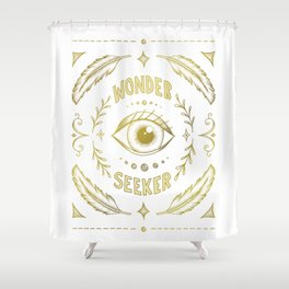 Wonder Seeker Shower Curtain
