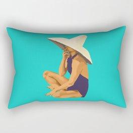 Criss Cross Applesauce Rectangular Pillow