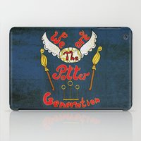 potter iPad Cases featuring Potter Generation by green.lime