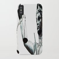 justice league iPhone & iPod Cases featuring Justice ? by arnedayan