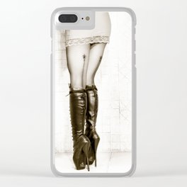Ballet boots - 1 of 3 from Triptych - Submission Clear iPhone Case