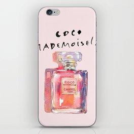 Perfume Coco Mademoiselle Illustration iPhone Skin