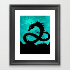 Sea Serpent Framed Art Print