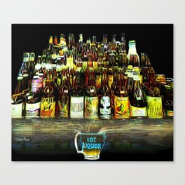 107 Liquor Canvas Print