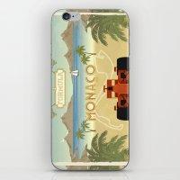 formula 1 iPhone & iPod Skins featuring Formula 1 in Monaco by Daniella Gallistl