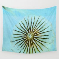 transparent Wall Tapestries featuring Transparent-Sea by Bella Blue Photography