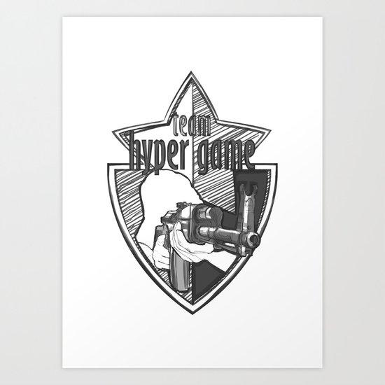 shooting video game online tee-shirt Art Print