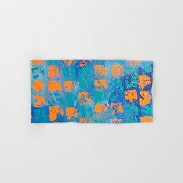 Abstract - True Blue Hand & Bath Towel