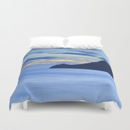 Vela tower. Cabo de Gata Duvet Cover