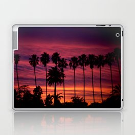 Sunset over Hollywood Laptop & iPad Skin