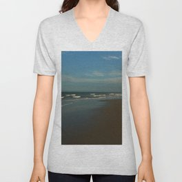 Litchfield By The Sea At Dawn Unisex V-Neck