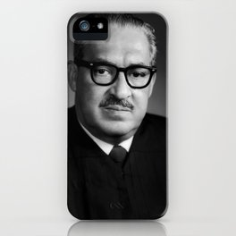 Thurgood Marshall Portrait - 1970 iPhone Case