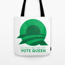 Vote Queen Tote Bag