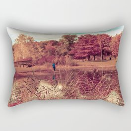 Autumn scene Rectangular Pillow