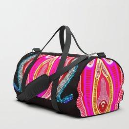 Vulva Galaxy  Duffle Bag
