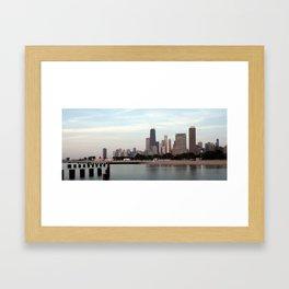 My Kind of Skyline Framed Art Print