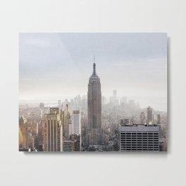 New York City Art Print, Empire State Building Photo, New York City Home Decor, New York City Skyline, New York City Photography, NYC Print Metal Print