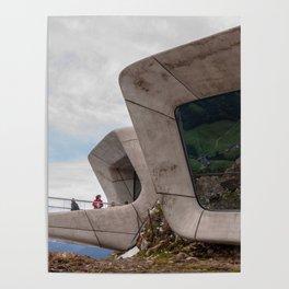 Messner Mountain Museum Corones    Zaha Hadid Architects Poster