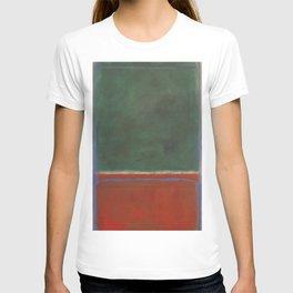 Green and Maroon - Mark Rothko T-shirt