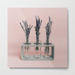 Pink Lavender Metal Print