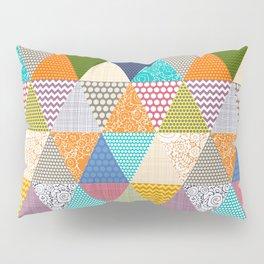 seaview beauty triangles Pillow Sham