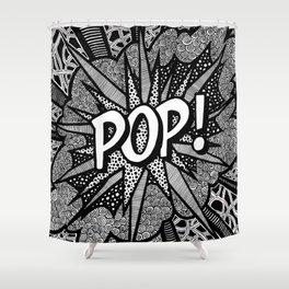 Roy Lichtenstein - Pop! Shower Curtain
