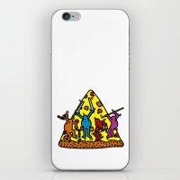 keith haring iPhone & iPod Skins featuring Haring - Ninja by Krikoui