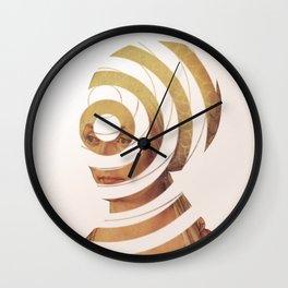 Dürer, die Frau die 20DM und der Kreis der Erinnerung Wall Clock