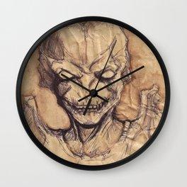 Pumpkinhead Wall Clock