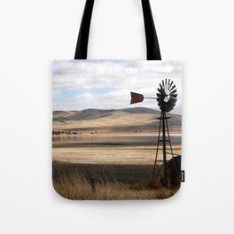 Rural Landscape of Rolling Hills in Australia Tote Bag