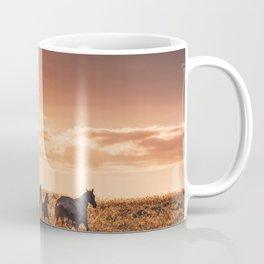 wild horses in australia Coffee Mug