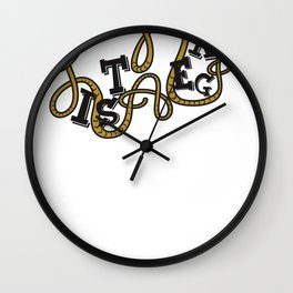 s6_t_lana1 Wall Clock