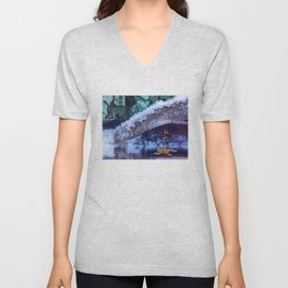 Escaping the Freeze. Unisex V-Neck