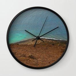 CONTRASTING COLORS Wall Clock