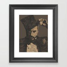 Mystery Unraveled  Framed Art Print