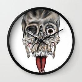 Skull Design Wall Clock