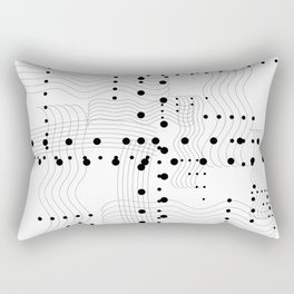 Music and Chords Rectangular Pillow