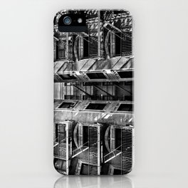 New York fire escapes iPhone Case
