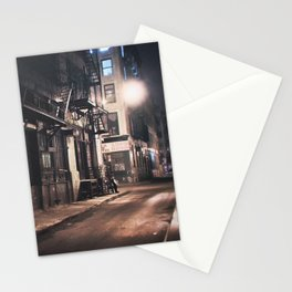 New York City - Small Hours After Midnight Stationery Cards