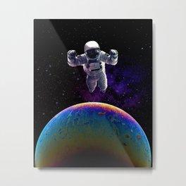spaceman slick. Metal Print