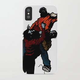 Hold On V2 iPhone Case