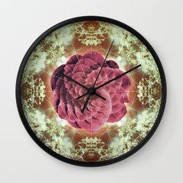 Violet Femme Wall Clock