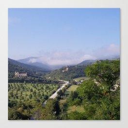 Fog in Umbria Canvas Print