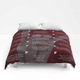 Anthem... or metal? Comforters