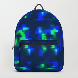 The highlights of the northern lights. Texture for a bedroom or space of the sky. Backpack