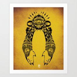 Golden Monkey Art Print