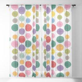 Pompón Sheer Curtain