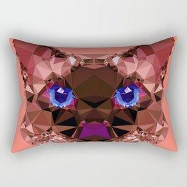 Geometric GrumpyCat Rectangular Pillow